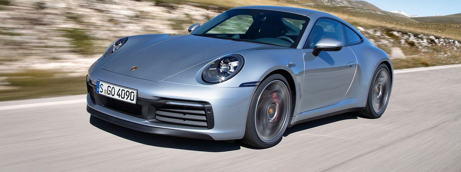 Der weiter veredelte Porsche 911 lässt immer noch den Ur-Ahn aus dem Jahr 1963 erkennen.