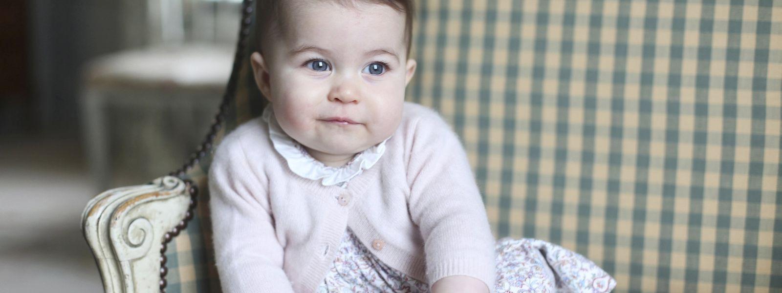Prinzessin Charlotte fotografiert von ihrer Mutter, Catherine, Duchess of Cambridge