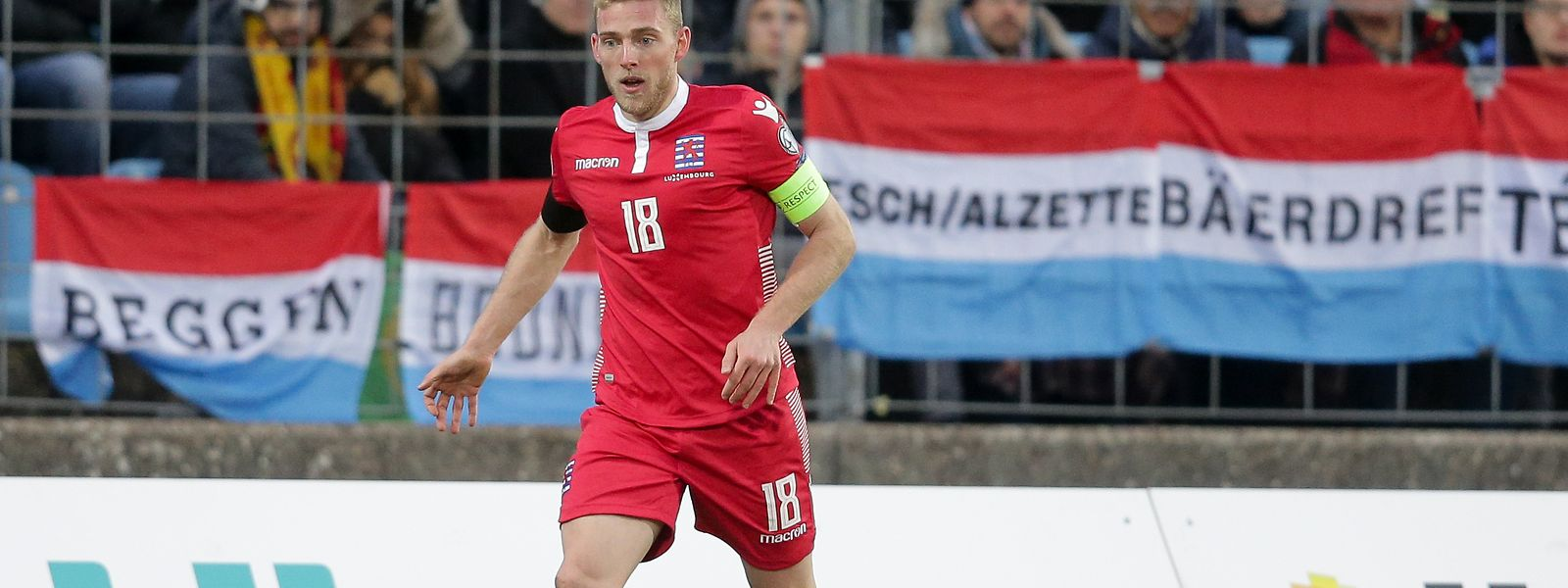 Laurent Jans wird mit Luxemburg zwei Testspiele vor heimischer Kulisse bestreiten.