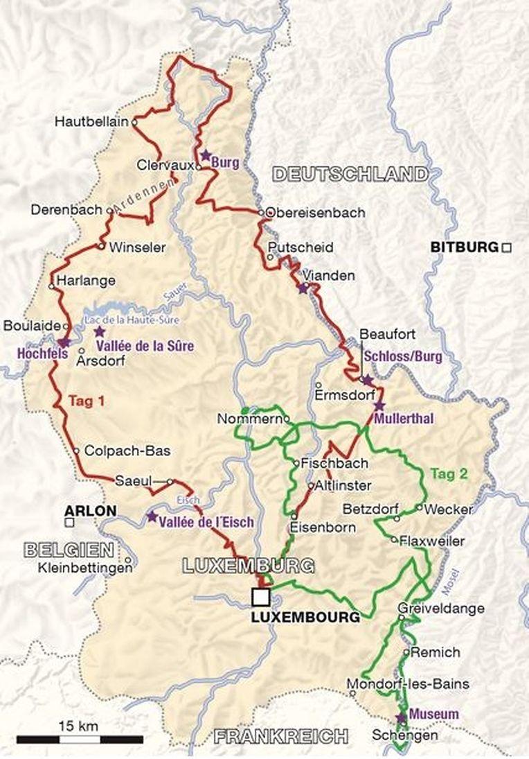 Zwei Touren führen die Oldtimerfans unter anderem in den Norden und Osten des Landes.