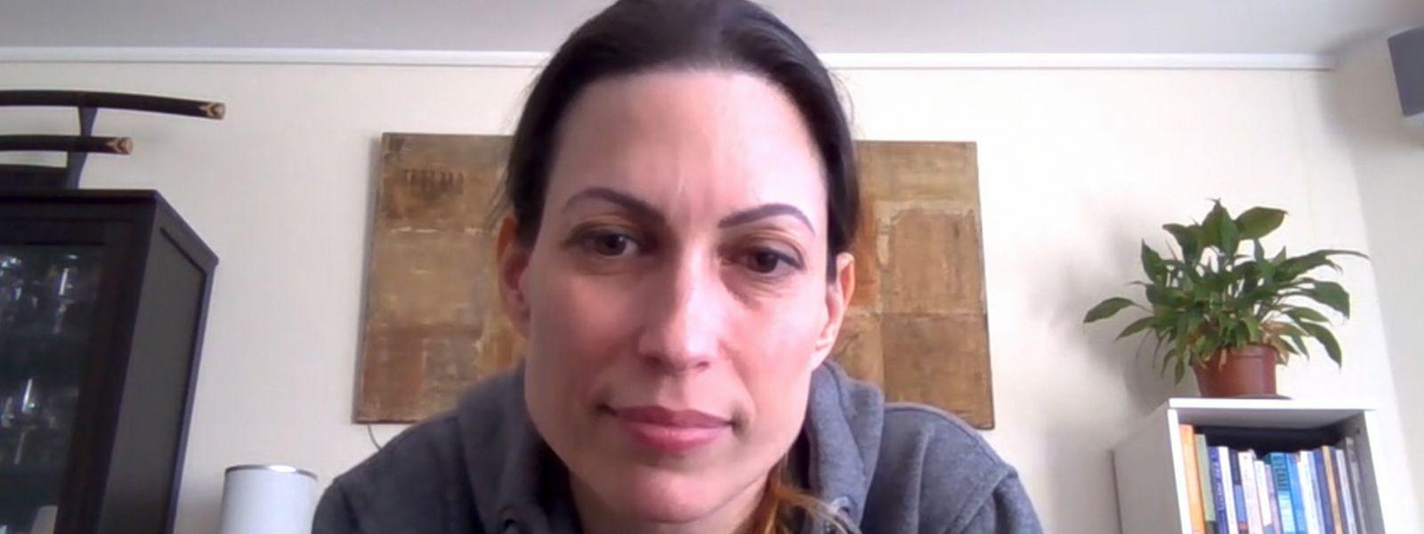 Pascale, 42 ans, tient un blog sur l'évolution de la maladie
