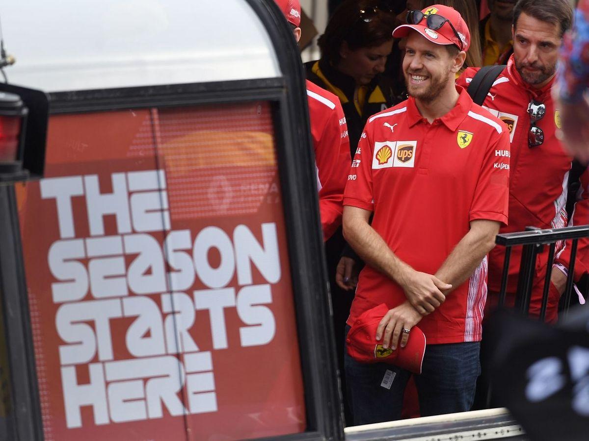 Sebastian Vettel n'a plus été champion du monde depuis 2013. Le plilote allemand espère mettre fin à six ans de disette.