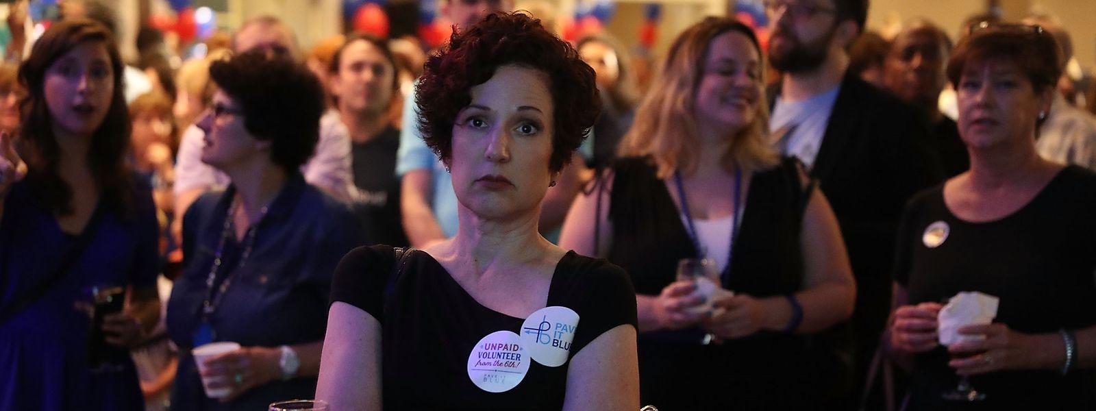 Desillusionierung macht sich in der Demokratischen Partei breit.