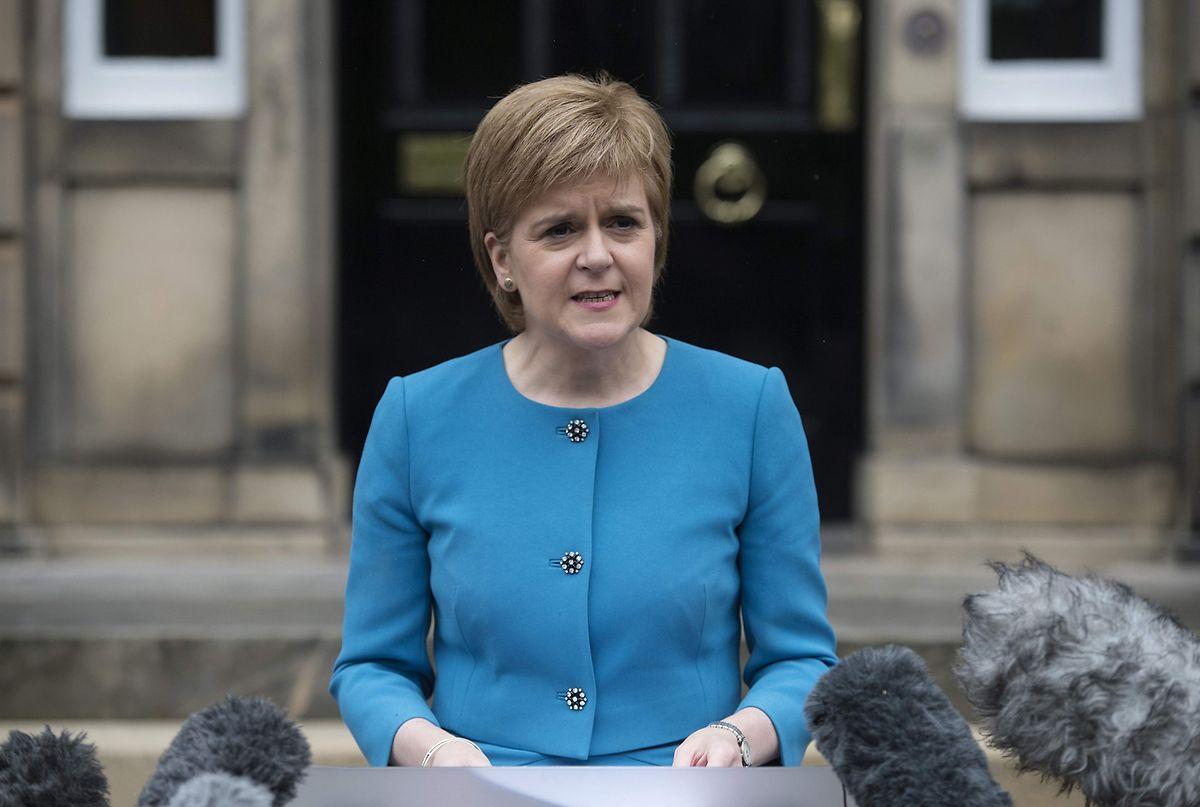 Schottlands Ministerin Nicola Sturgeon will noch ein Referendum für ihr Land.