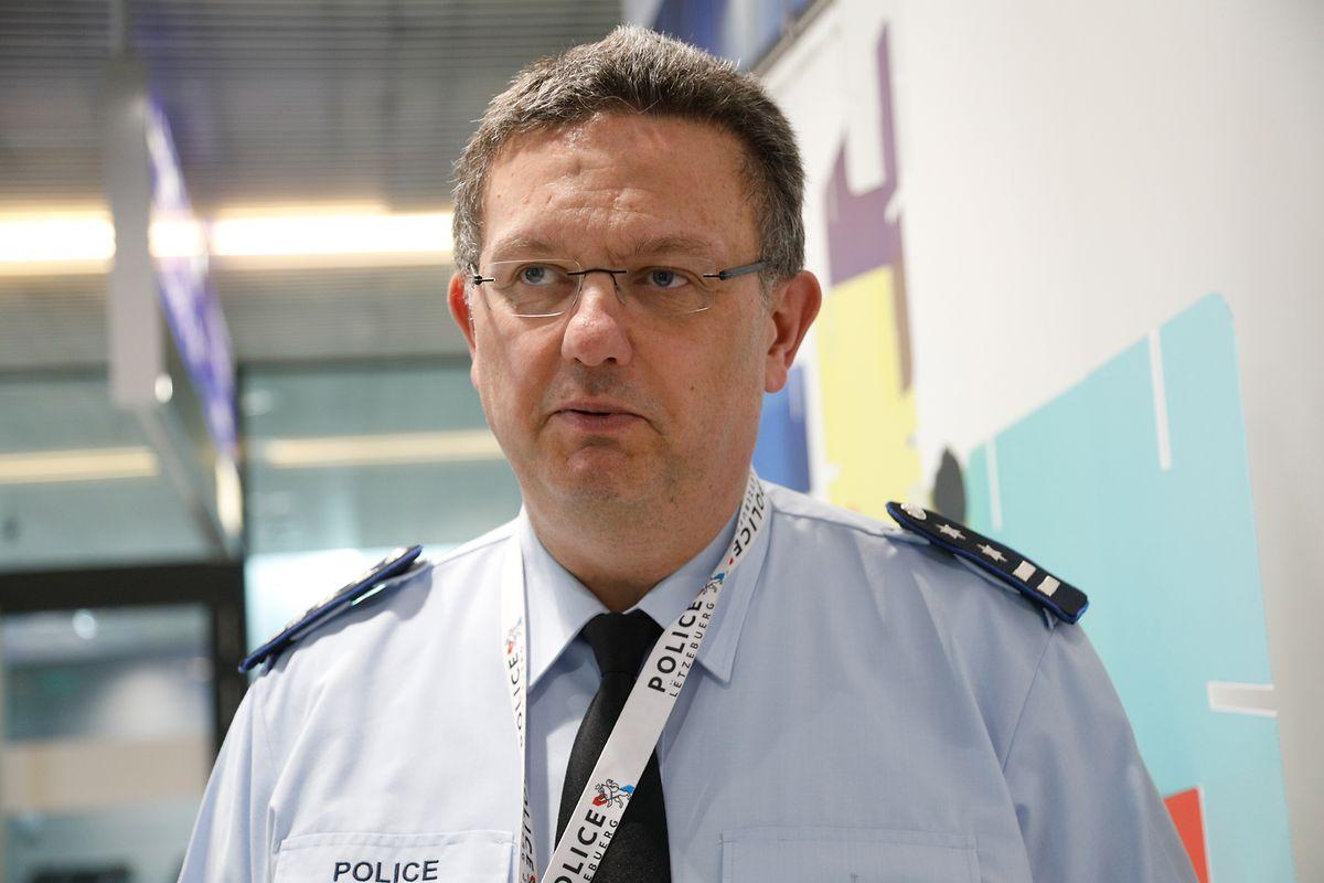 Christian Steichen, le directeur de l'Unité de la Police de l'Aéroport (UPA).