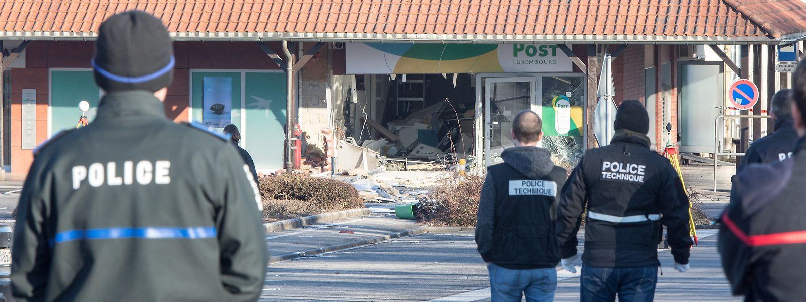 Niederanven am 21. März 2018: Ein Bild der Zerstörung, das sich binnen Monaten mehrfach wiederholen wird.