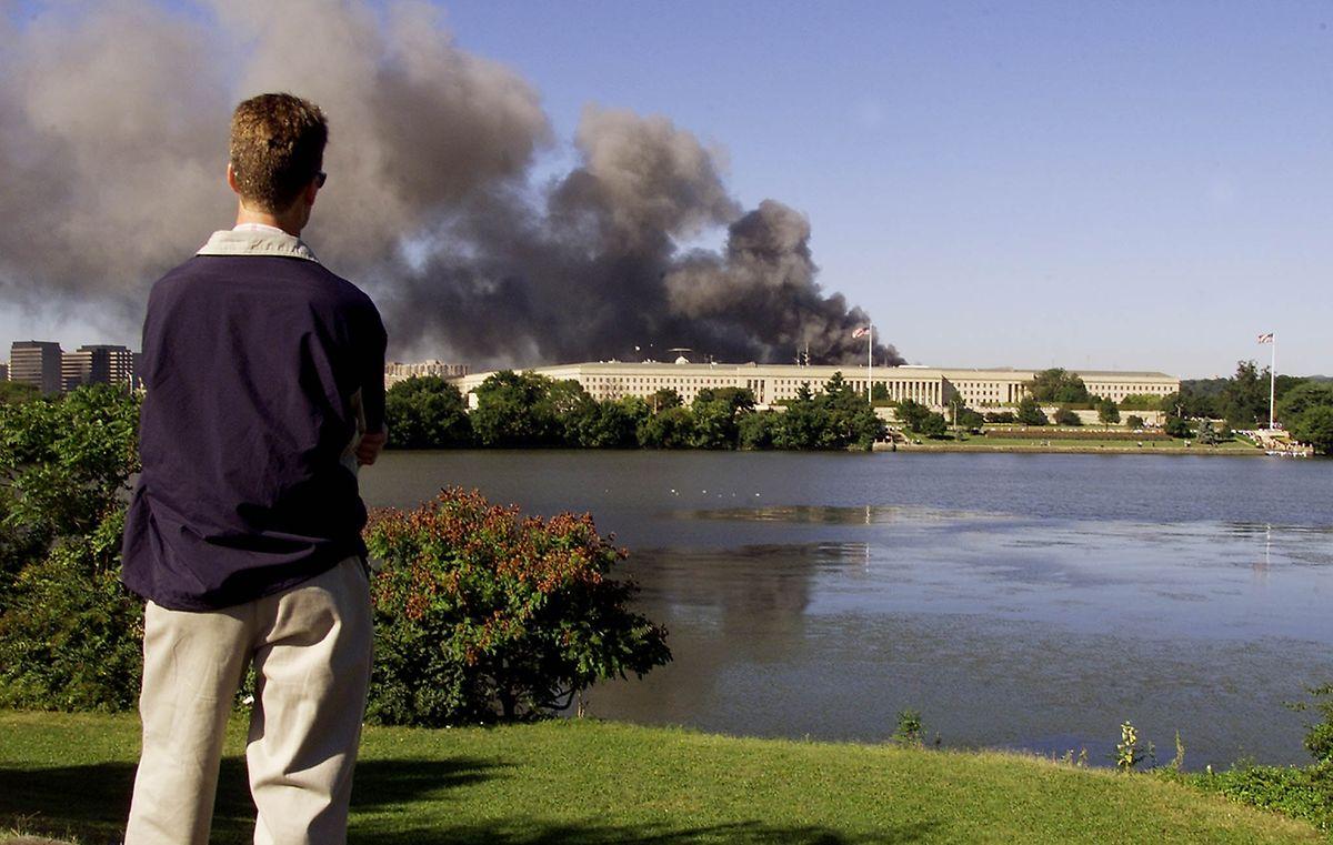 Schaltzentrale der Verteidigung im Visier: 184 Menschen sterben beim Flugzeugattentat auf das Pentagon.