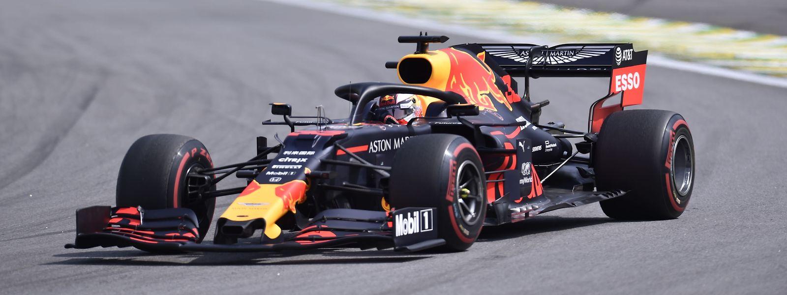 Max Verstappen war von der Poleposition ins Rennen gegangen.