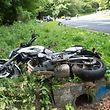 Motorradfahrer gestürzt. Kopstal -Kehlen CR103.Foto:Gerry Huberty