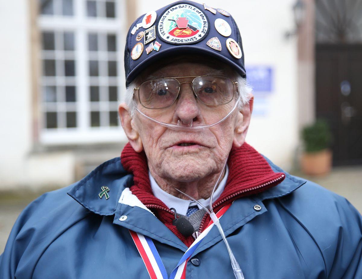 Richard W. Brookins bei seinem letzten Besuch in Luxemburg 2014.