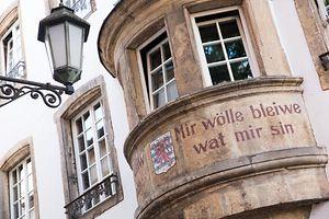 Mir Woelle bleiwen wat mir sin, Luxemburg, Luxembourg, Foto Lex Kleren