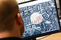 Lokales,Vorstellung des neuen Atlas Digital Urbain der Stadt Luxemburg.Foto: Gerry Huberty/Luxemburger Wort.