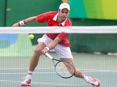 Erst Rio, dann New York: Gilles Muller möchte Gaël Monfils zum Auftakt überwinden.