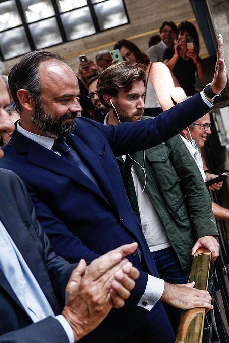 Premierminister Edouard Philippe hat die Kommunalwahl in der nordfranzösischen Hafenstadt Le Havre gewonnen.