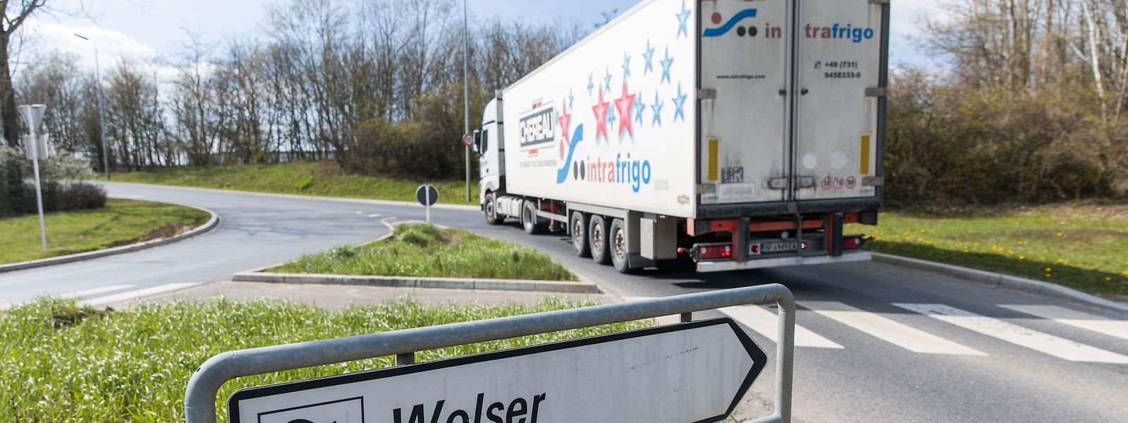 An diesem Standort in der Industriezone Wolser nahe Bettemburg sollte die Joghurtfabrik eigentlich entstehen.