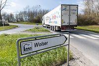 Desk, Industriegebiet, Gewerbezone, Corona Virus, Z.I. Wolser, Foto: Lex Kleren/Luxemburger Wort