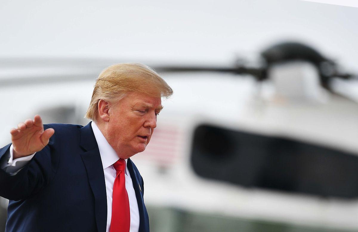 """""""Überrascht, dass Harley-Davidson von allen Unternehmen als erstes die weiße Flagge hisst"""", twitterte Trump in der Nacht zum Dienstag."""