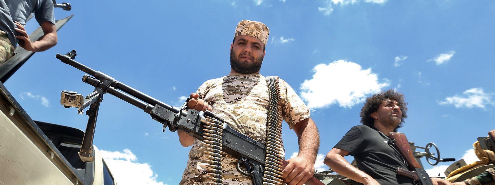 In Libyen herrscht derzeit ein blutiger Bürgerkrieg.
