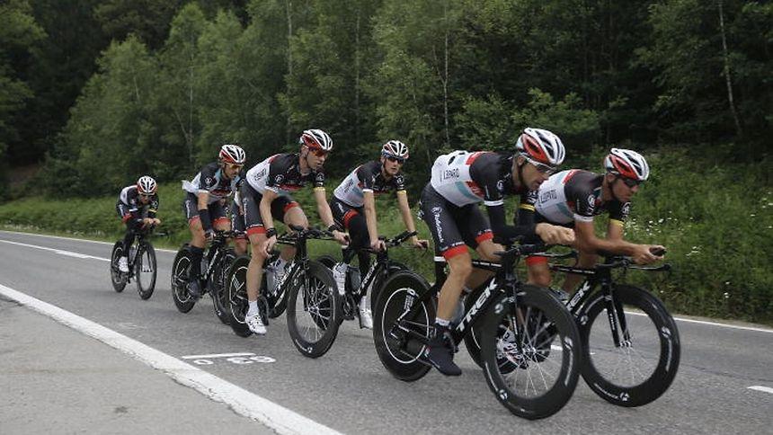 Aucun luxembourgeoise ne défendra les couleurs de la RadioShack-Nissan dans le chrono par équipes. Voigt, Klöden, Zubeldia, Popovych, Gallopin et Sergent ont été retenus.