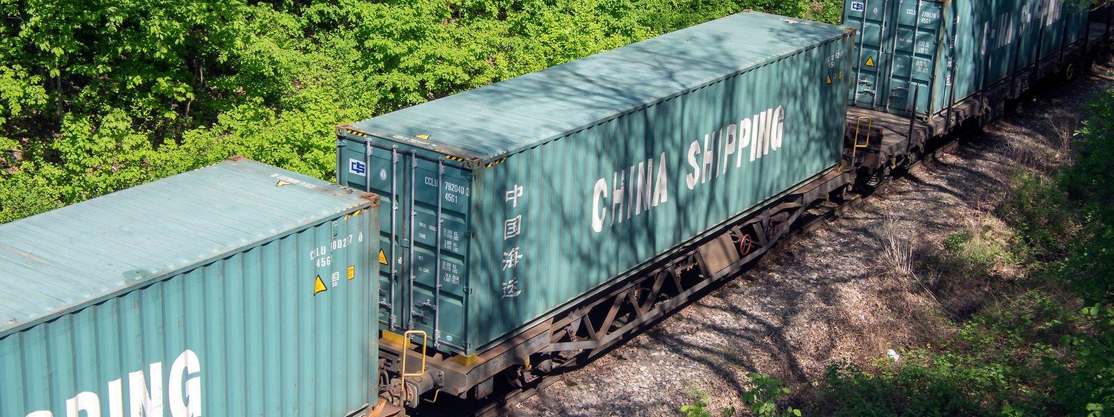 Containerzüge aus dem Reich der Mitte sollen irgendwann auch einmal nach Bettemburg rollen. Bislang blieb es aber bei Absichtserklärungen.