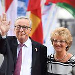 Mulher de Jean-Claude Juncker, a primeira-dama mais paciente da Europa