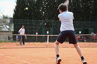 Tennis,Jugendliche,Jeunes jouant au Tennis, Cours de Tennis,Foto:Gerry Huberty
