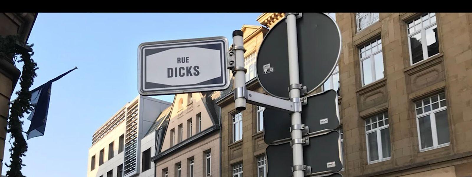 In dem Video macht sich das Team rund um Ben Olinger unter anderem über die vielen Straßen lustig, die Rue Dicks heißen.