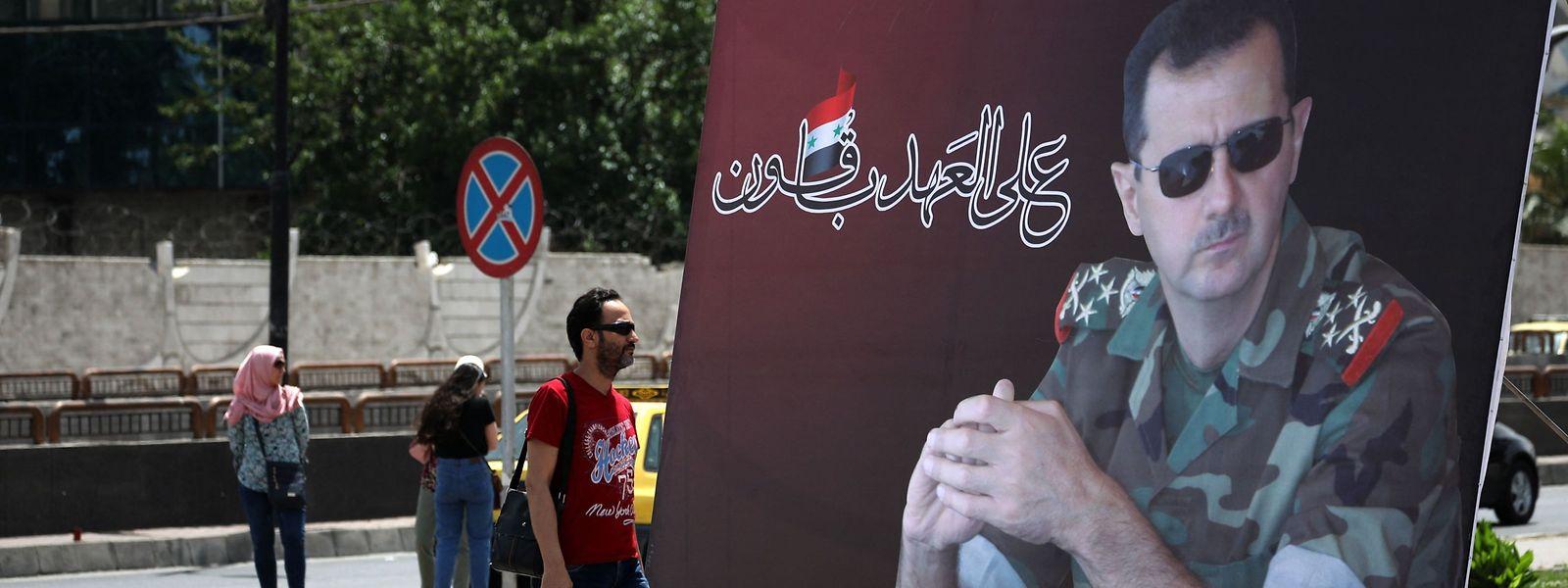 Der syrische Präsident Baschar al-Assad wird sich Ende Mai wiederwählen lassen.