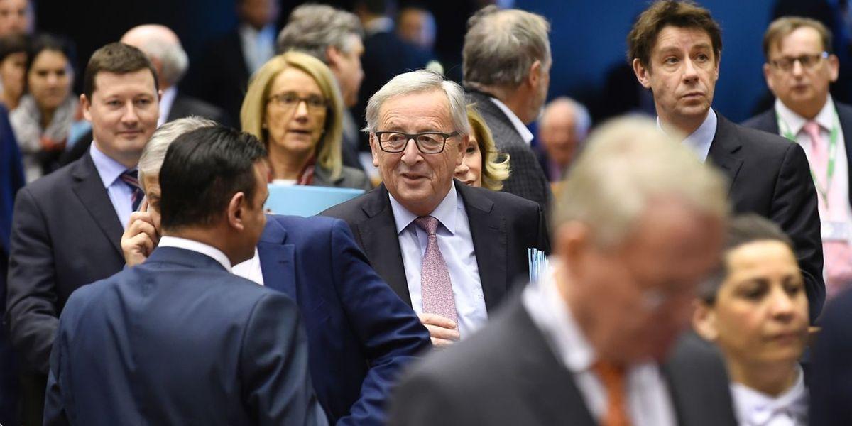 Jean-Claude Juncker: «Une Europe unie à 27 doit prendre en main son destin et élaborer une vision pour son propre avenir».