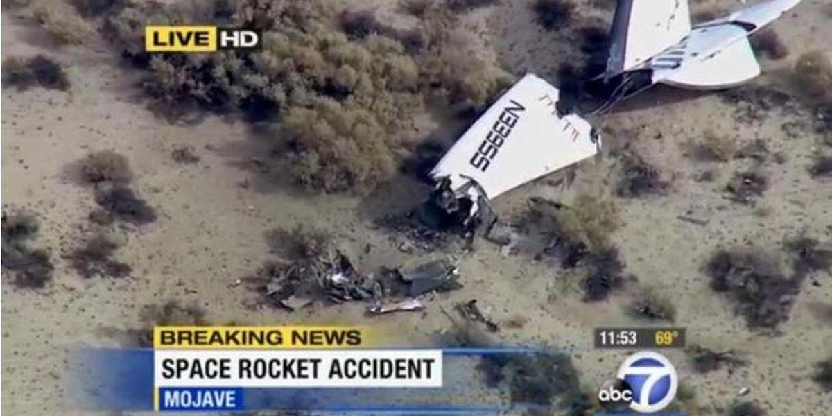 Le vaisseau SpaceShipTwo de VirginGalactic, firme du milliardaire britannique Richard Branson, s'est écrasé vendredi dans le désert californien, faisant un mort et un blessé grave.