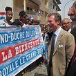 A cidade de Ribeira Grande teve tolerância de ponto esta quinta-feira para a despedida do Grão-Duque