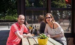 Lokales, Wiedereröffnung Terrassen und Restaurants, Luxemburg, Covid-19, Corona, Horesca, Foto: Lex Kleren/Luxemburger Wort