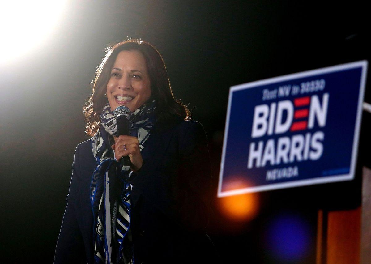 Senatorin Kamala Harris wird die erste Vizepräsidentin der USA.