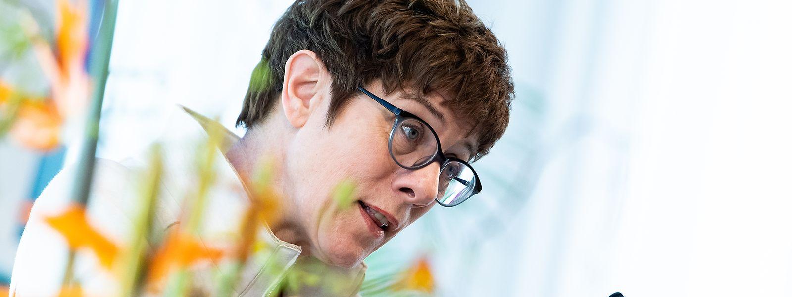 CDU-Vorsitzende Annegret Kramp-Karrenbauer.
