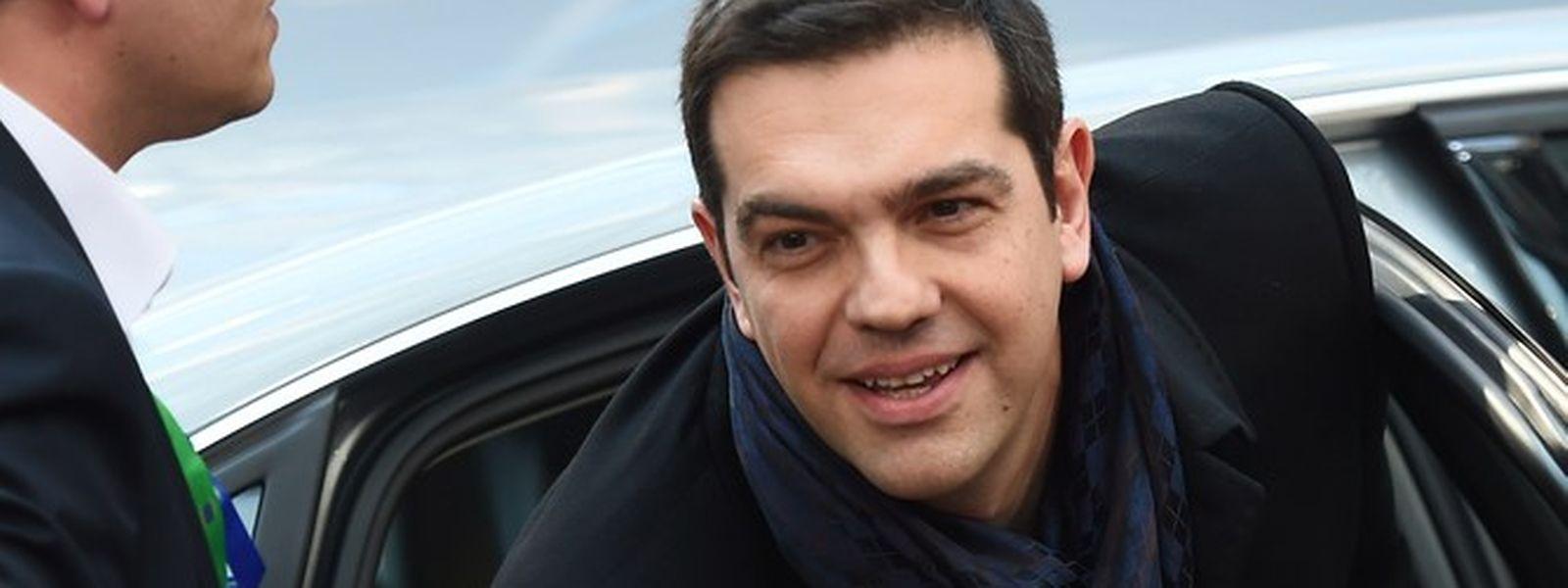 Alexis Tsipras, o primeiro-ministro grego