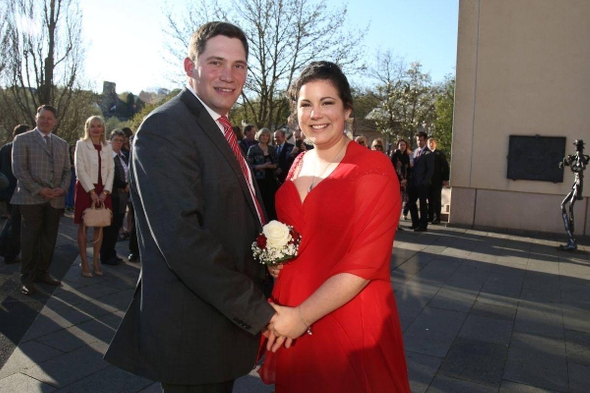 Der Hochzeit erster Teil: Bauer Guy und Victoria heiraten standesamtlich