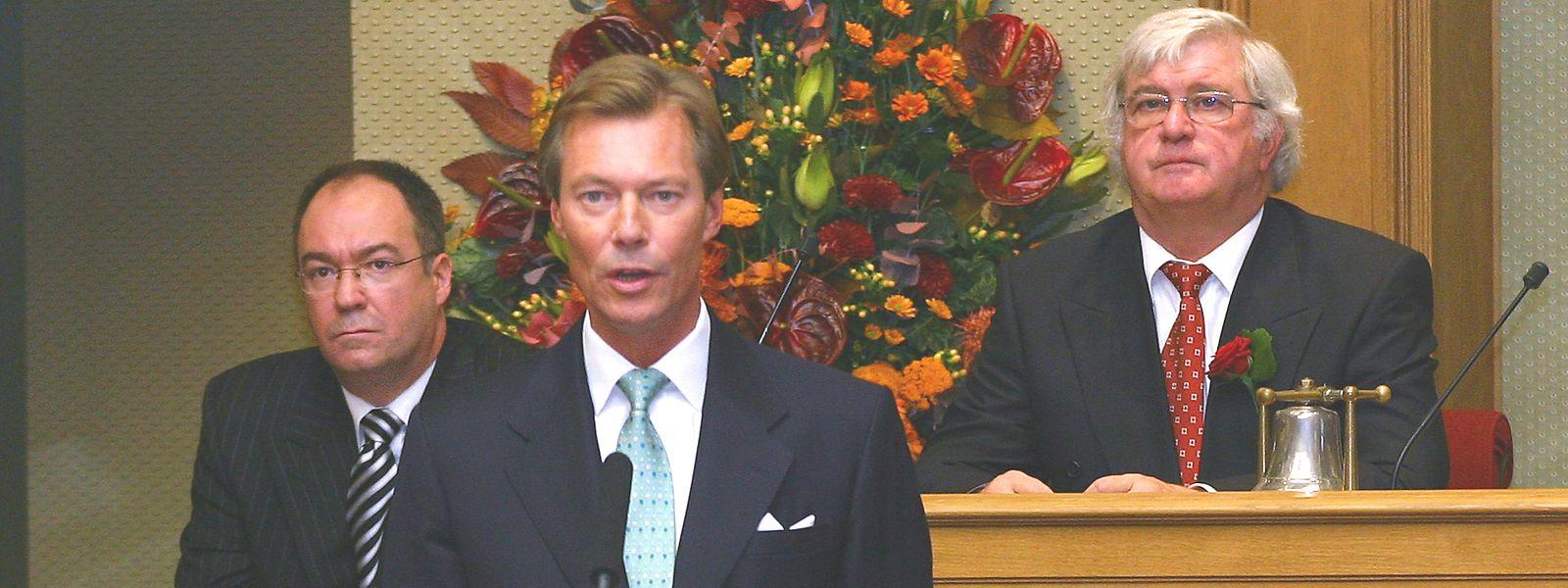 Dans le nouveau texte, le Grand-Duc ne pourra plus dissoudre le Parlement à lui seul.