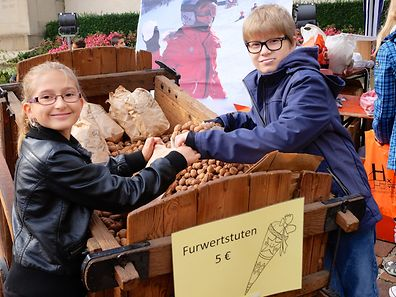 A feira das Nozes de Vianden é uma das nossas propostas para este fim-de-semana