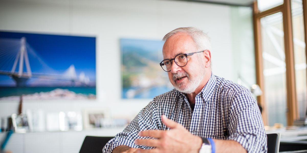 Werner Hoyer hat das Amt des EIB-Präsidenten im Jahr 2012 übernommen, und es steht fest, dass er für eine zweite Amtszeit Chef der Förderbank in Kirchberg bleiben wird.