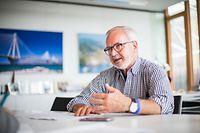 EIB President Werner Hoyer, Foto Lex Kleren