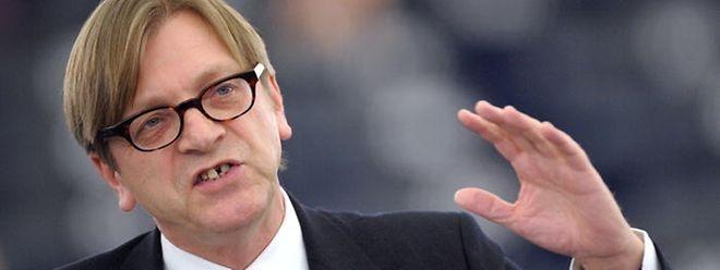 Guy Verhofstadt fordert konkrete Fortschritte in Sachen britische Finanzverpflichtungen und Regelung an der nordirisch-irischen Grenze