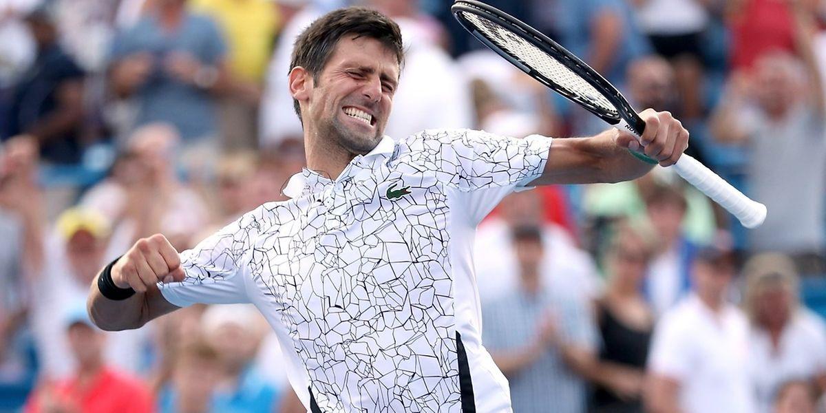 A Cincinnati il y a une semaine, Novak Djokovic est devenu le premier joueur à inscrire son nom au palmarès des neuf Masters 1000 du calendrier.