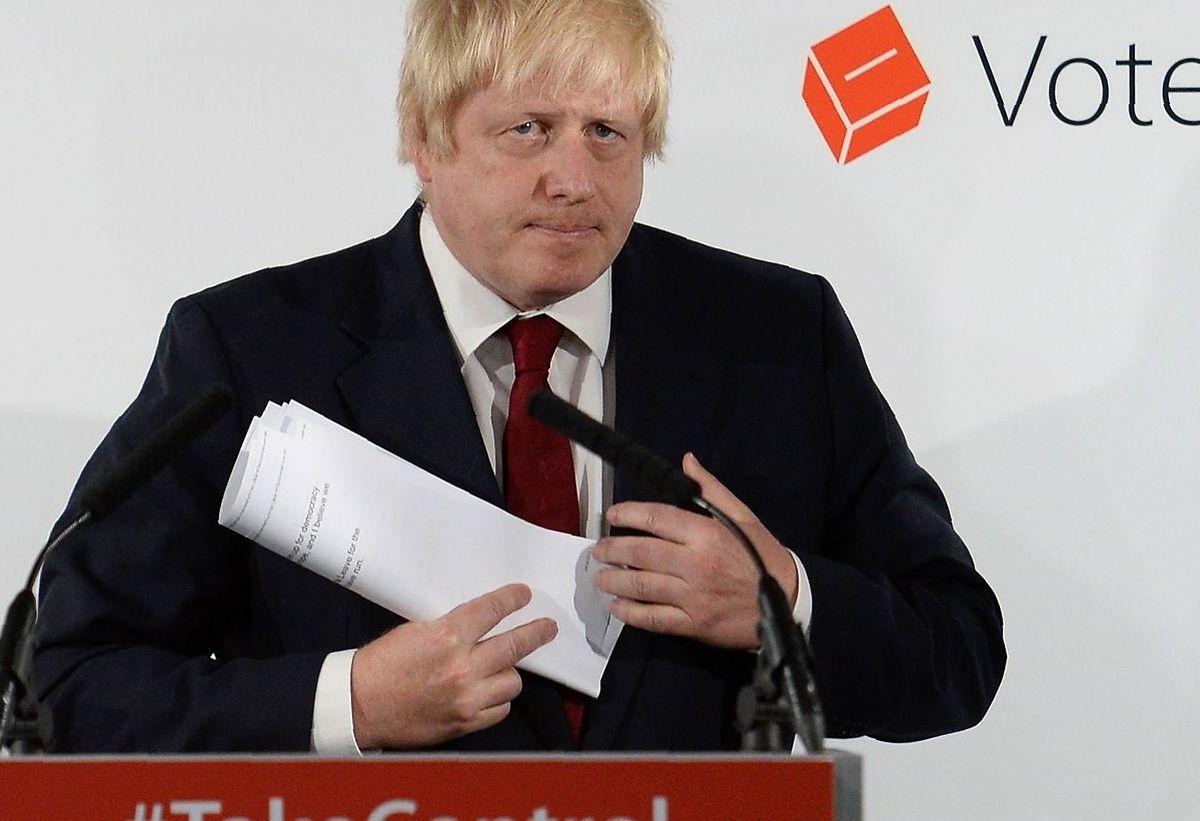 Nach dem Brexit-Votum hat Boris Johnson keine Eile beim Abschied von der EU.