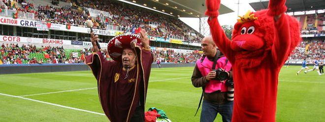 Le 3 juin 2006, le Luxembourg rencontrait le Portugal au stade... Saint-Symphorien de Metz