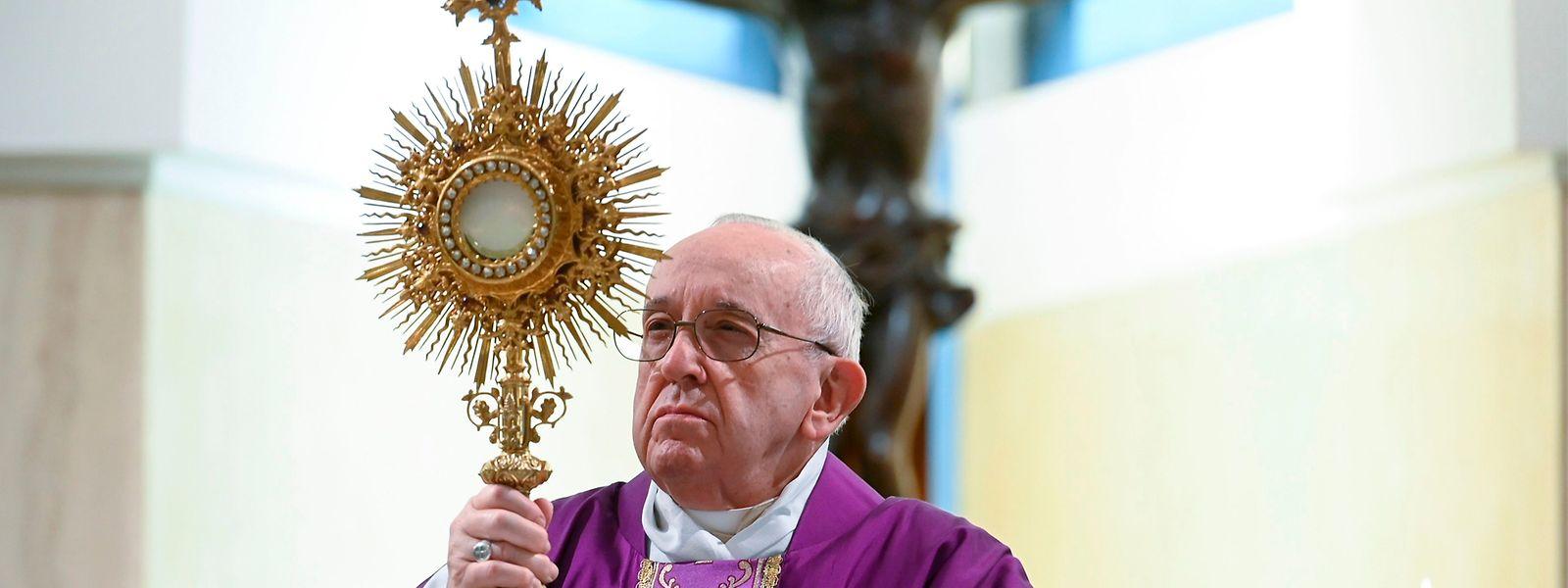 Papst Franziskus wurde auf das Corona-Virus getestet. Ergebnis: negativ.