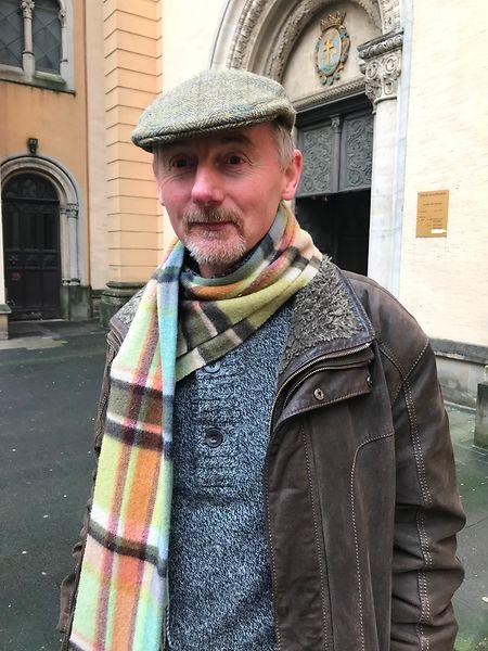 Graham Jarvis, Vorsitzender des Vereins der britischen Migranten in Luxemburg, lädt am Freitagabend anlässlich des britischen EU-Austritts zu einer Mahnwache vor der Paterkiirch in der Hauptstadt  ein.