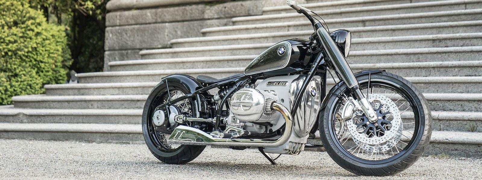 Die Concept R18 soll die Essenz großer BMW-Motorrad-Klassiker in die heutige Zeit übertragen.