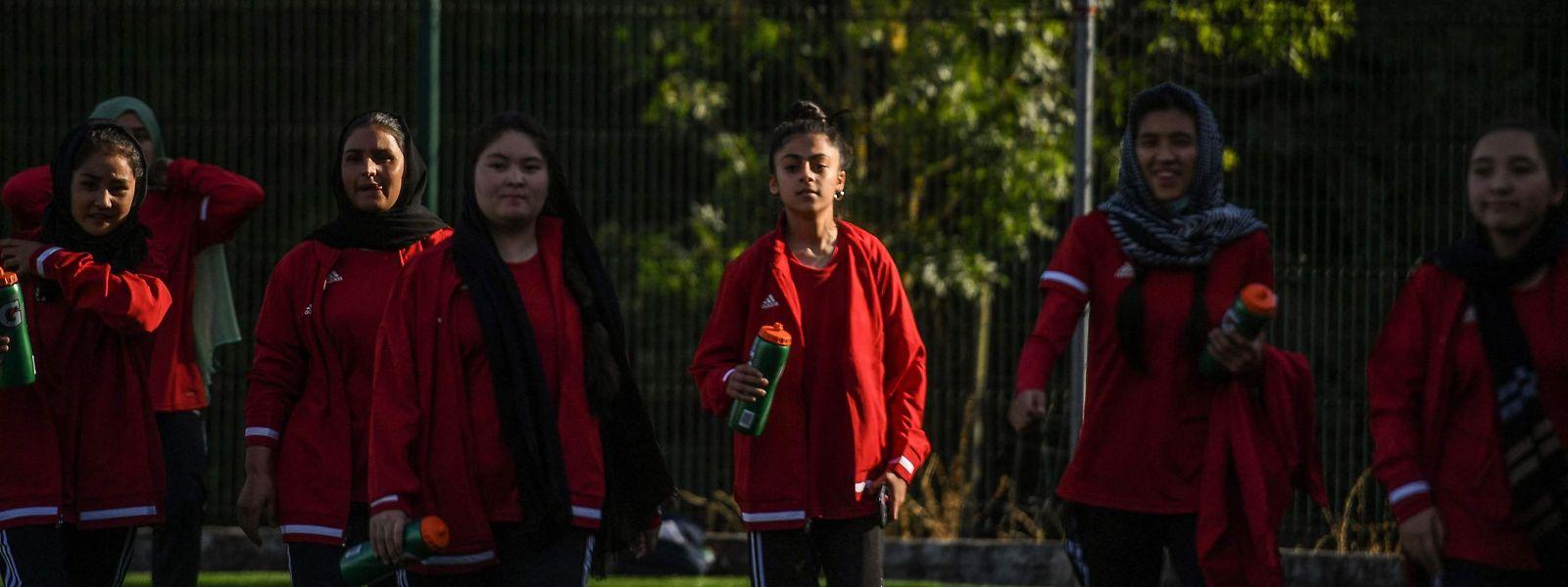 Equipa feminina afegã
