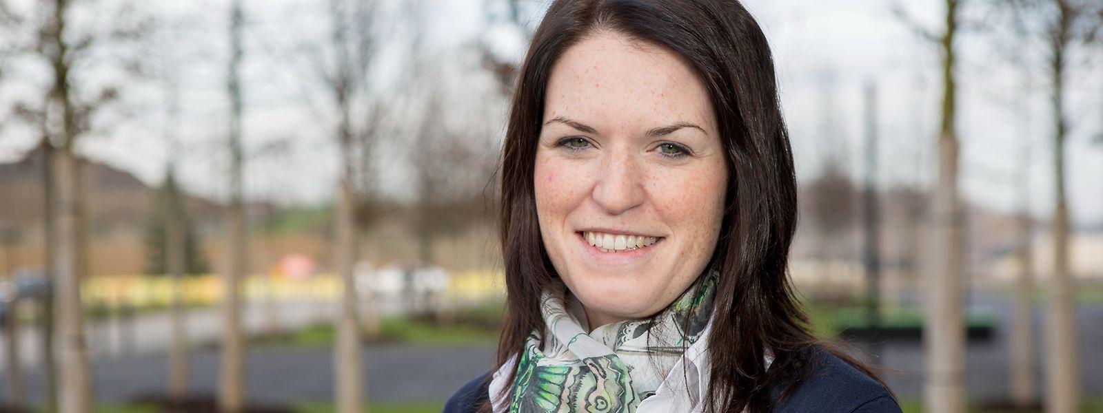 Anja Leist mag es, in einem internationalen Team an praxisorientierten Aufgaben zu arbeiten.