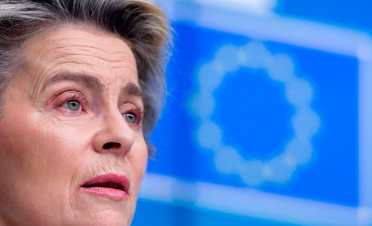 European Commission President Ursula von der Leyen Photo: AFP